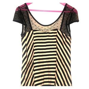 Pinup striped top